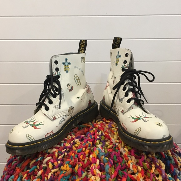 Doc Marten Pascal Limited Edition Tattoo Combat